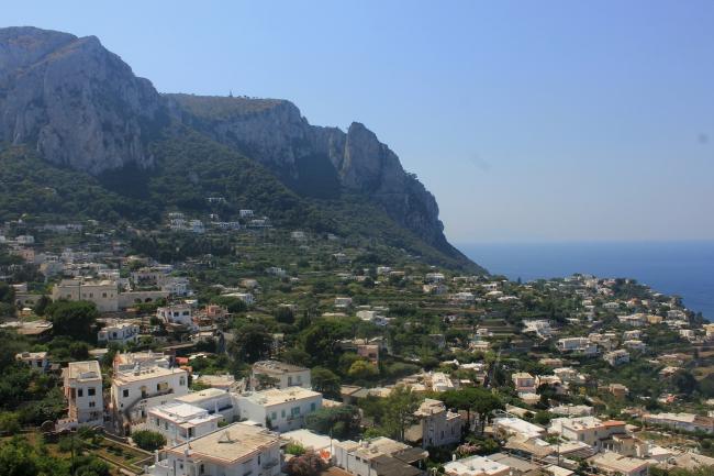 town of capri, capri island, italy