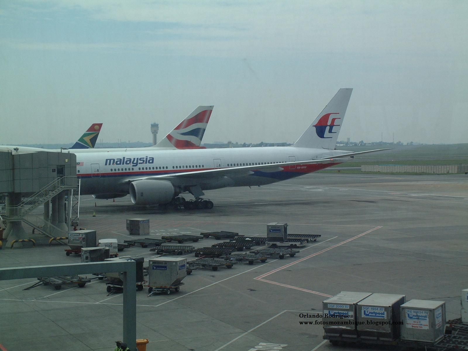 Aeroporto Johannesburg : MoÇambique hoje epÍlogo