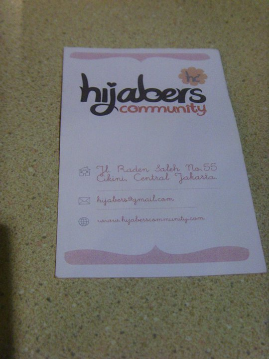 Hijabers Community Card