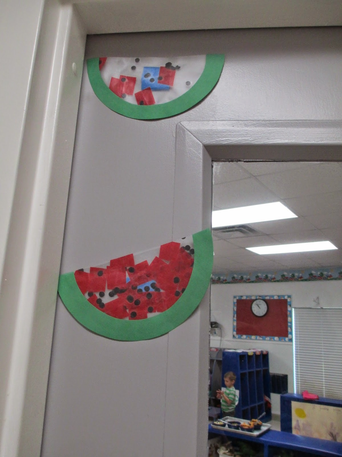 The Pa-Paw Patch, vale nc childcare, watermelon suncatchers