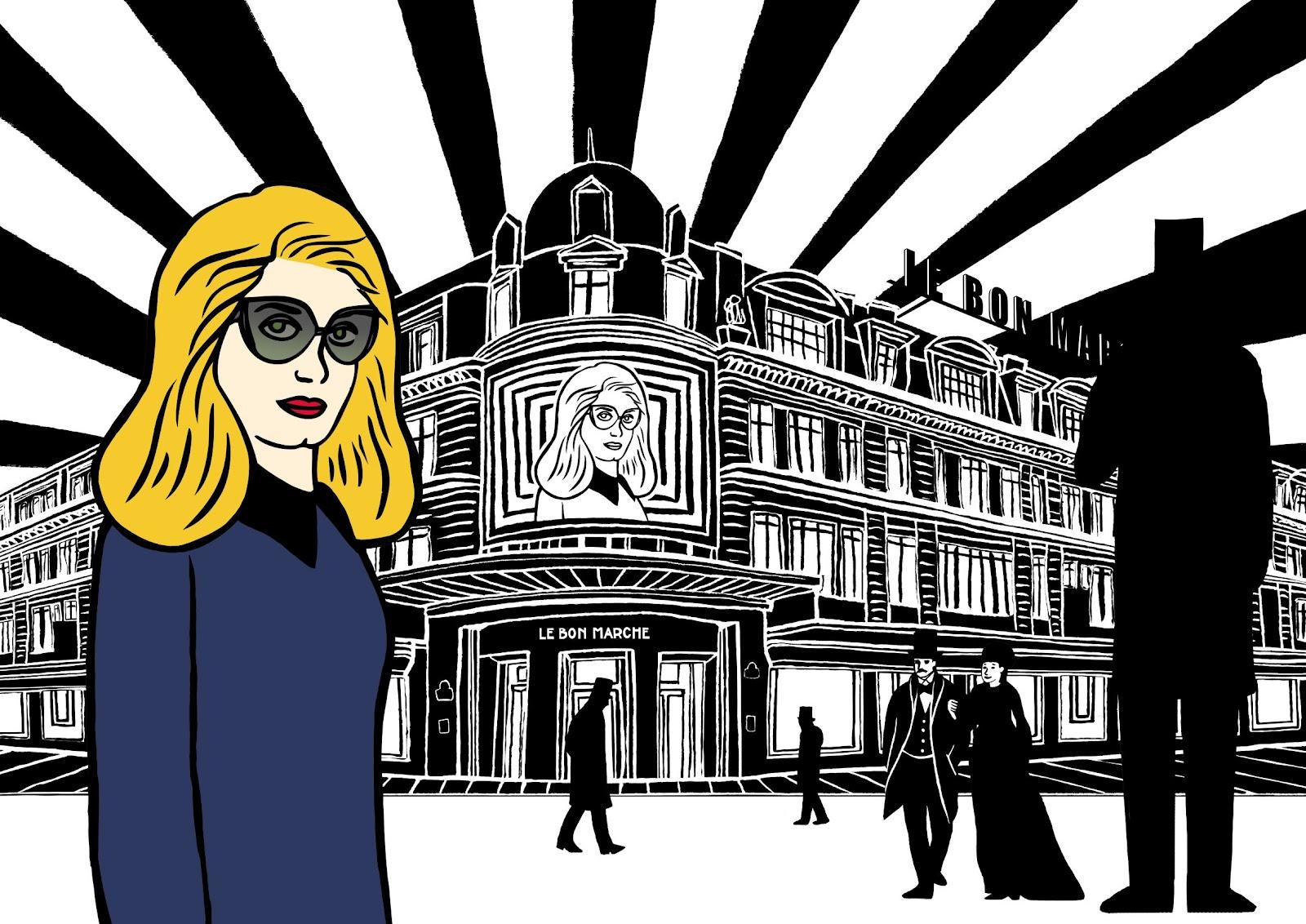 Le bon march turns 160 with catherine deneuve the parisian eye - Le bon marche rive gauche ...
