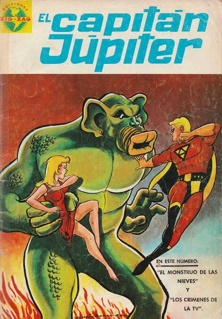El Capitán Júpiter 01 -15, 16 - 22 Editorial Zig-Zag