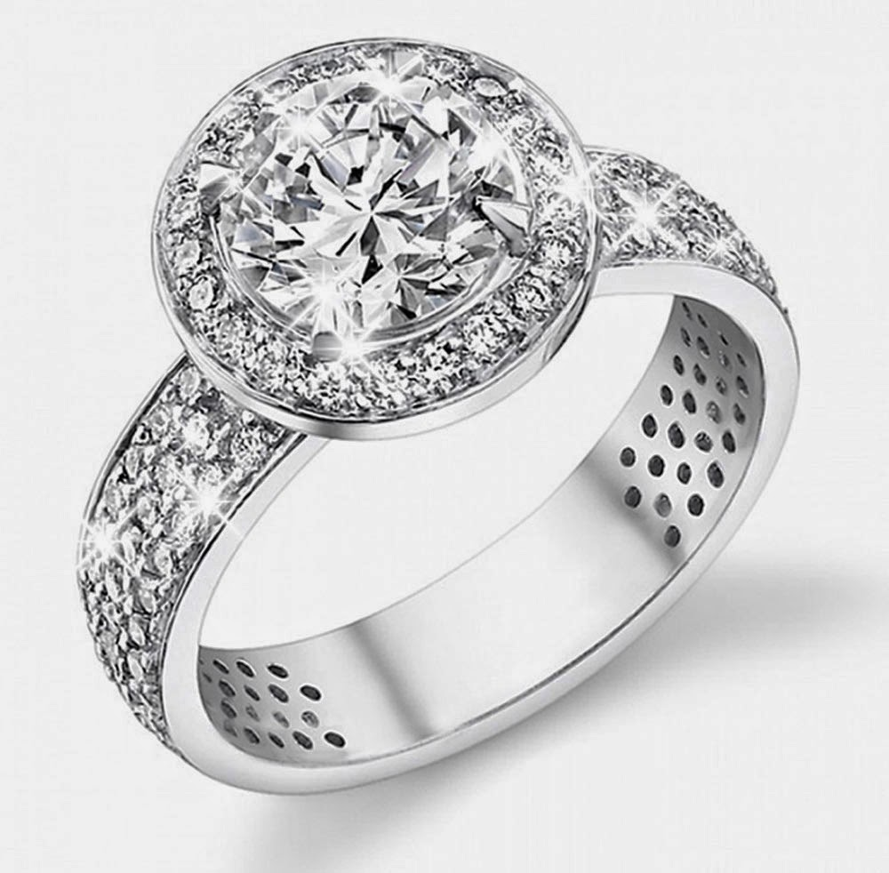 Expensive White Gold Diamond Wedding Rings Canada