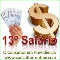 auxílio-doença, 13º salário anual, INSS