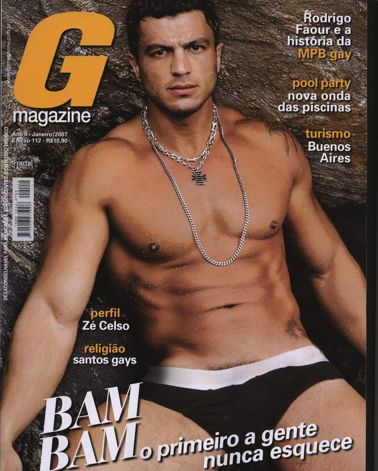 vencedor do bbb1 bam bam demorou para posar na capa da g magazine mais