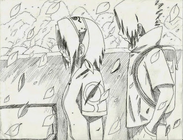 #3 Sasuke Manga Drawing