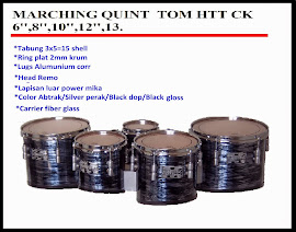 MARCHING MULTI TOM 6,8,10,12,13 inch CK