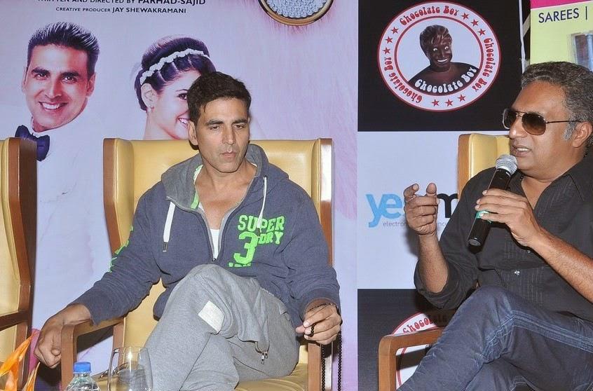 Akshay Kumar and Prakash Raj
