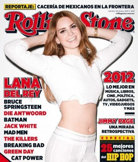 #news: Lana Del Rey is all smiles on the cover Rolling Stones!