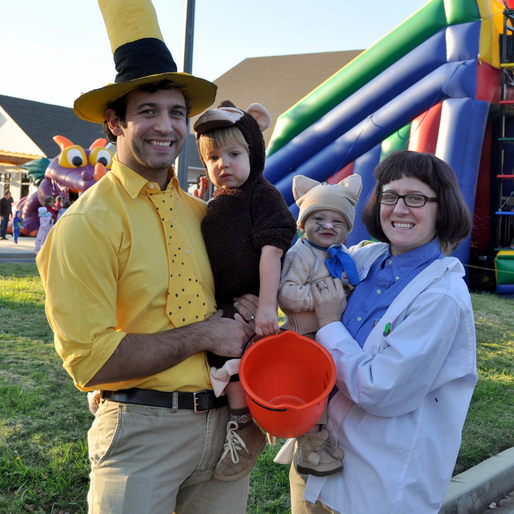Curious George Professor Wiseman Costume