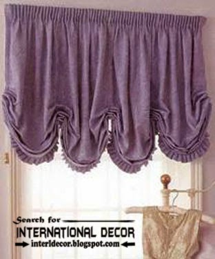 largest catalog of purple curtains and drapes, Austrian purple curtain shade