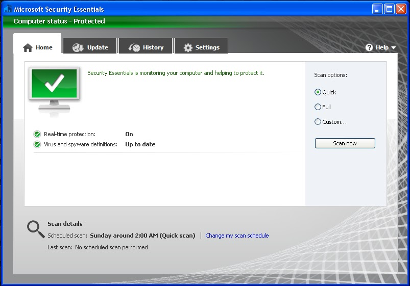 Contents contributed and discussions participated by nick hilden manual updates for microsoft security essentials fandeluxe Choice Image