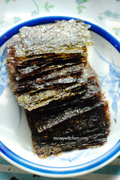 Gim Gui - Roasted Seaweed 11 | Korean Recipes