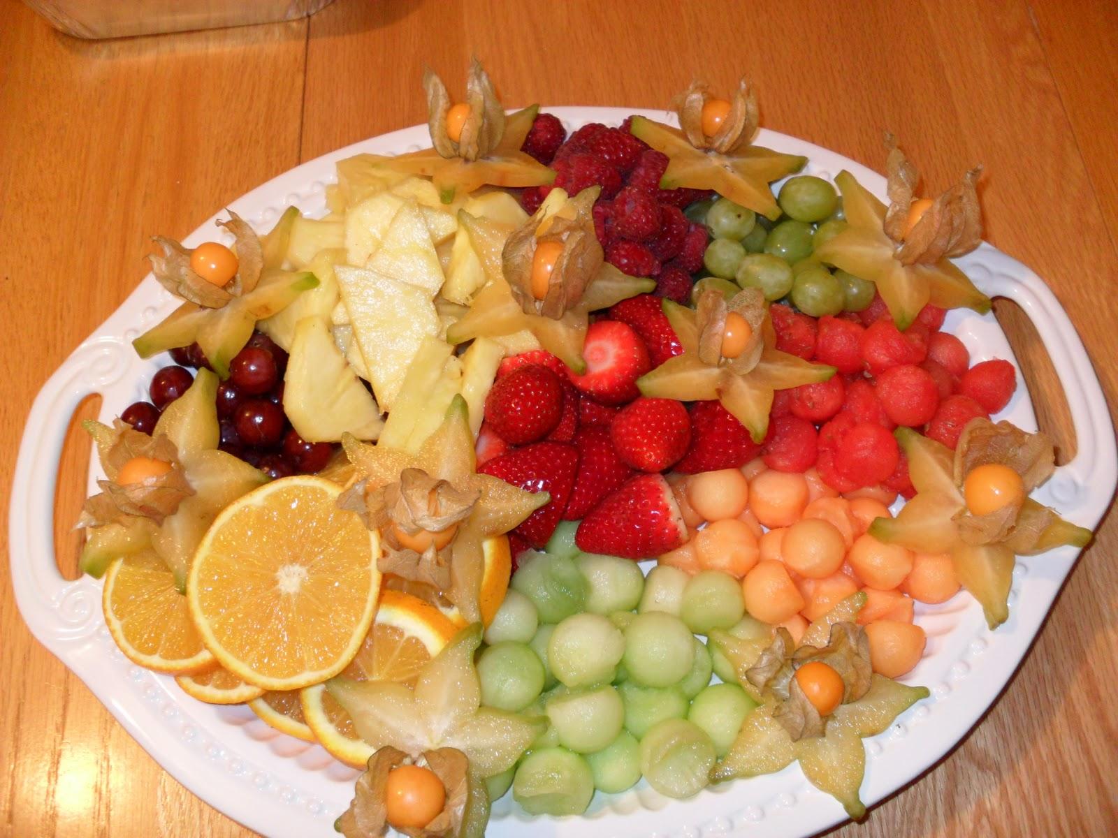 Audrey cuisine assiette de fruits - Assiette de cuisine ...
