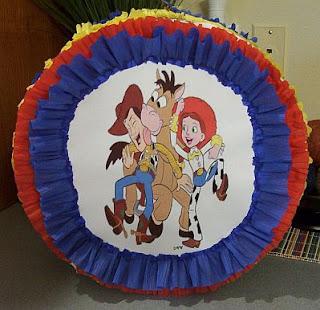 Piñatas de Toy Story para Fiestas Infantiles, parte 2