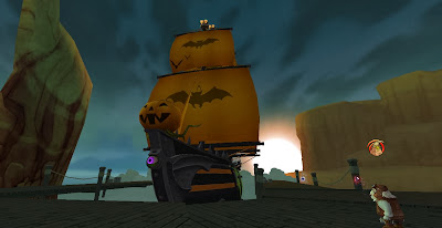 Pirate101 Halloween Galleon