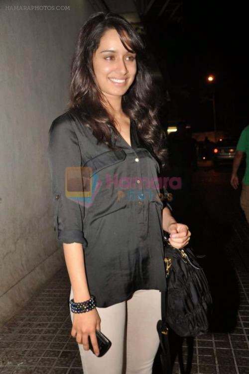 Shraddha Kapoor at the special screening for Shootout at Wadala hosted by John Abraham in PVR, Mumbai on 1st May 2013
