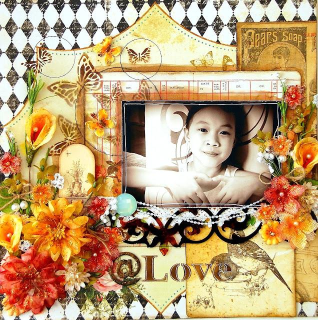 @Love Layout by Irene Tan