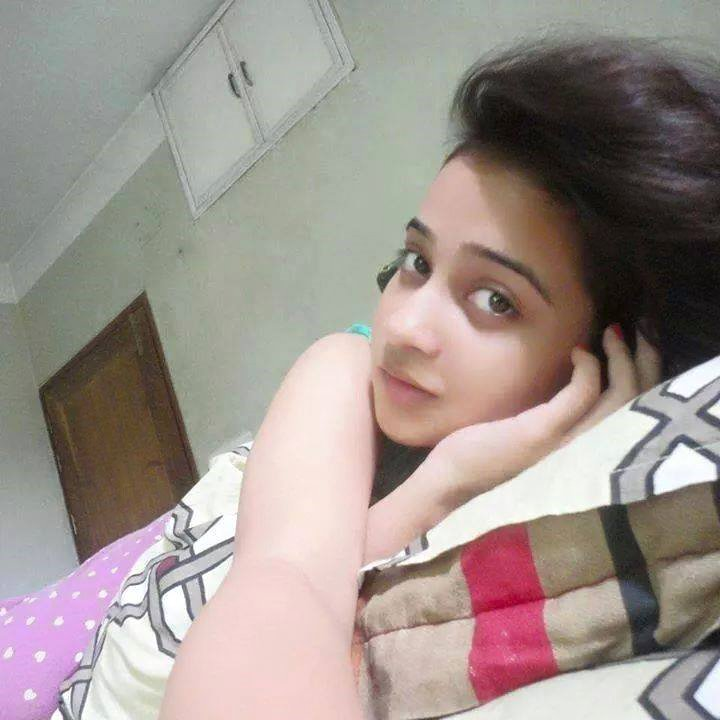 bed Indian girl selfie