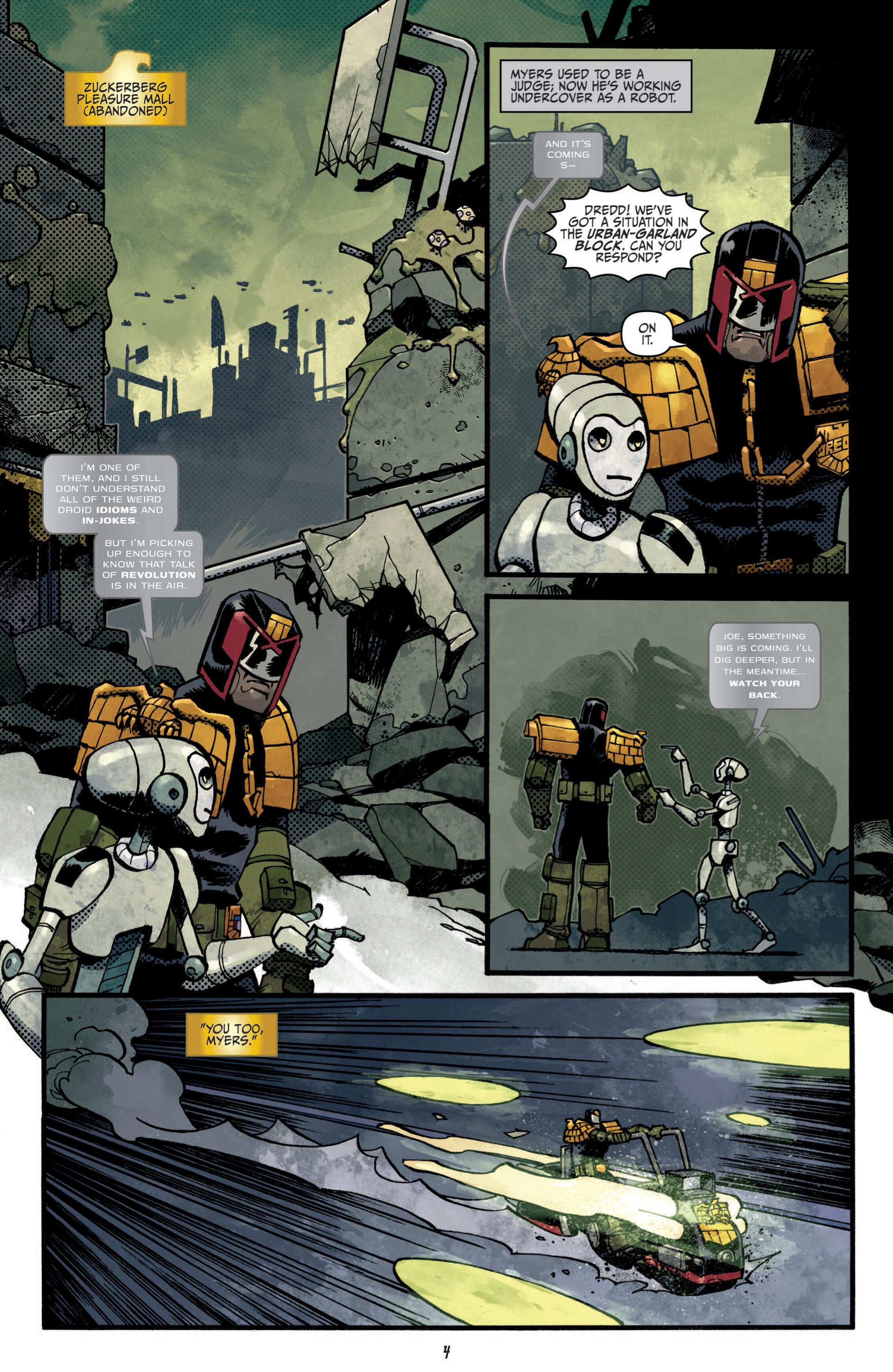 Read online Judge Dredd (2012) comic -  Issue #5 - 6