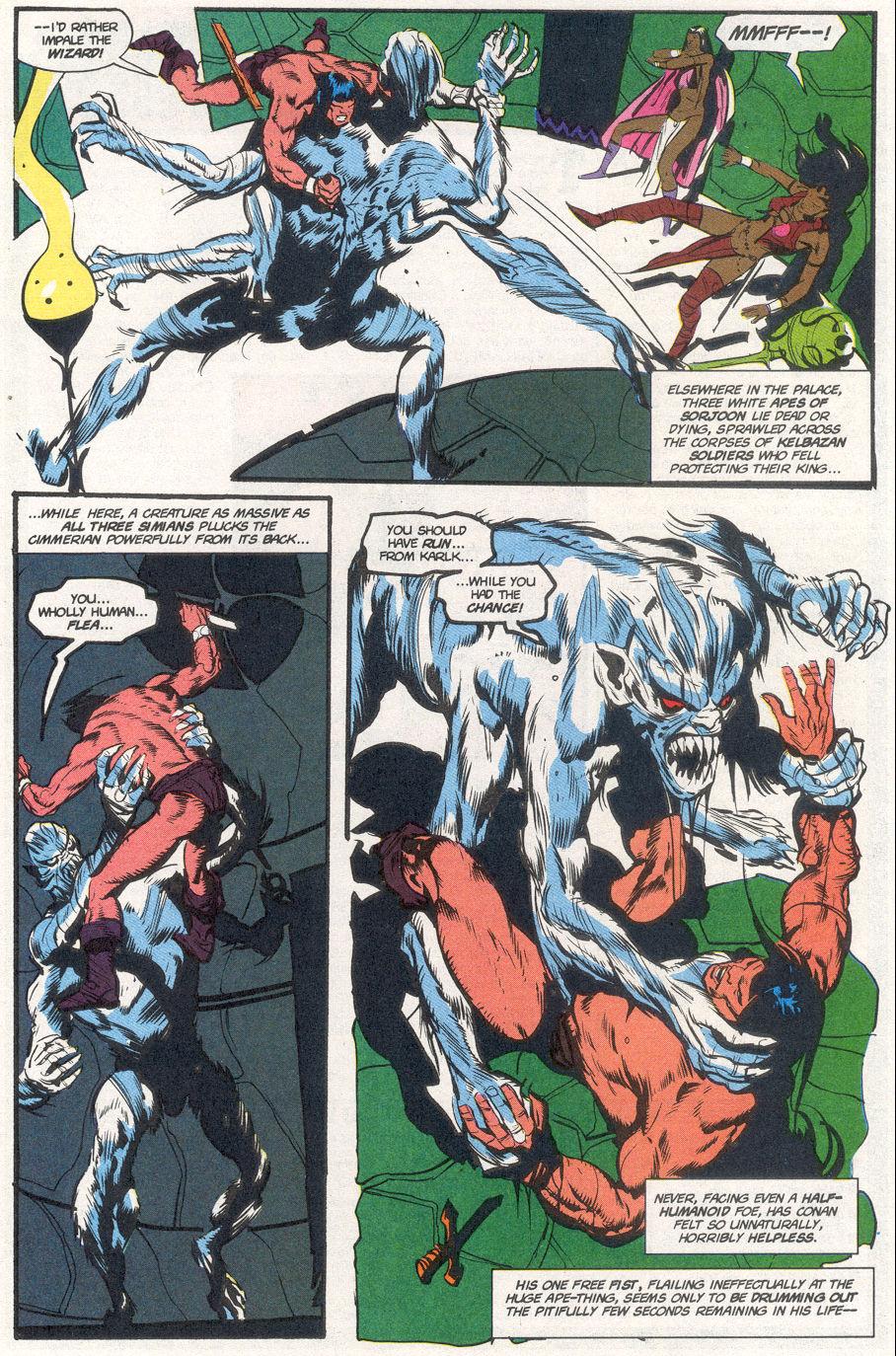 Conan the Barbarian (1970) Issue #265 #277 - English 20