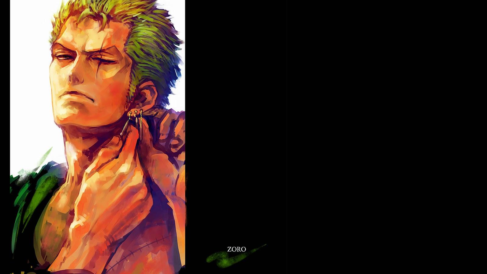 Roronoa Zoro After 2 Years One Piece Anime Hd Wallpaper 1920x1080
