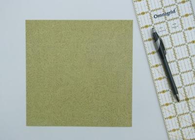 подготовить квадратный лист бумаги