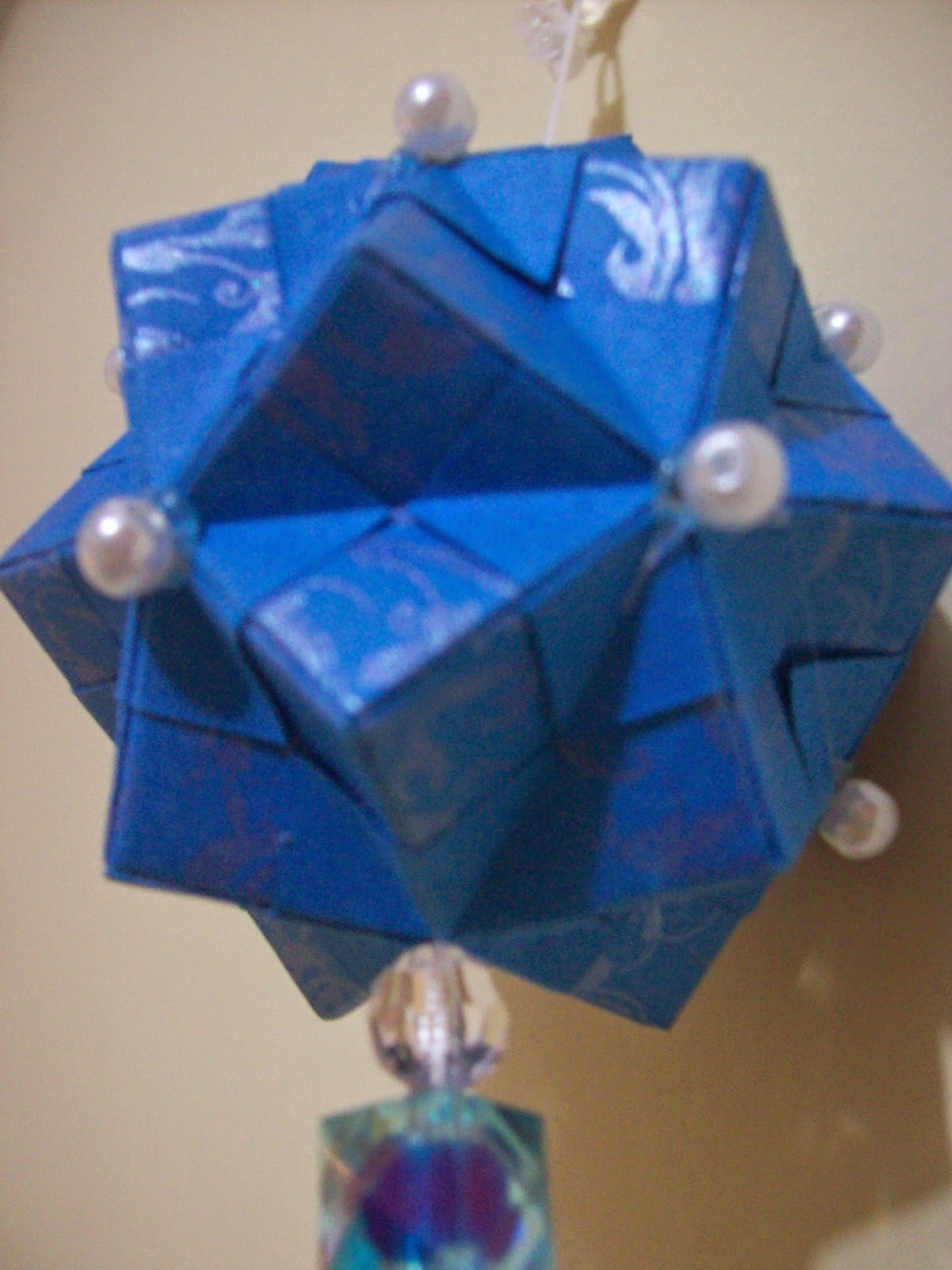 Kusudama Spring Azul