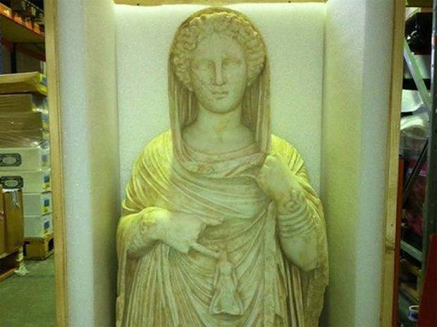 Looted Greek statue belongs to Libya rules UK judge