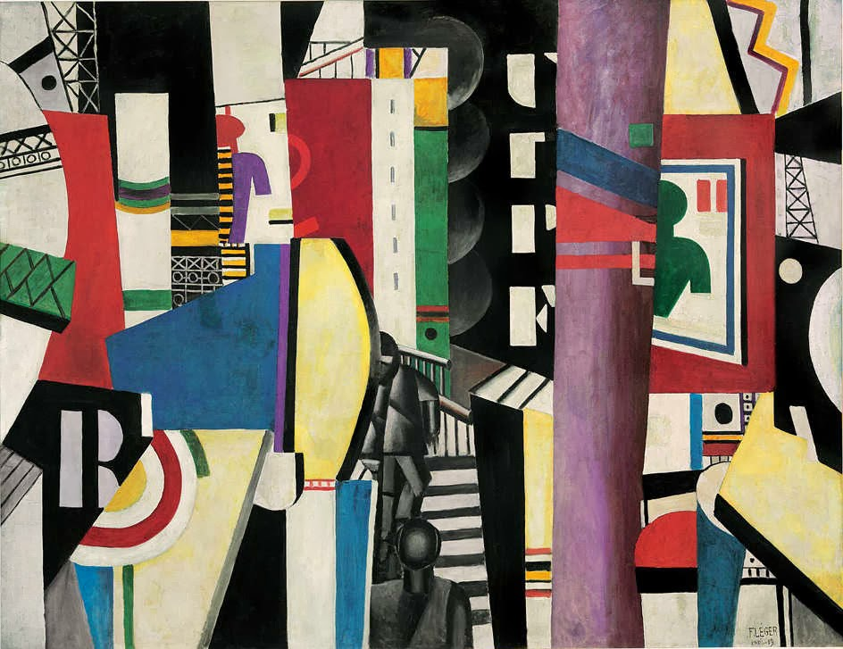 LEGER. 1910-1930 at Correr Museum