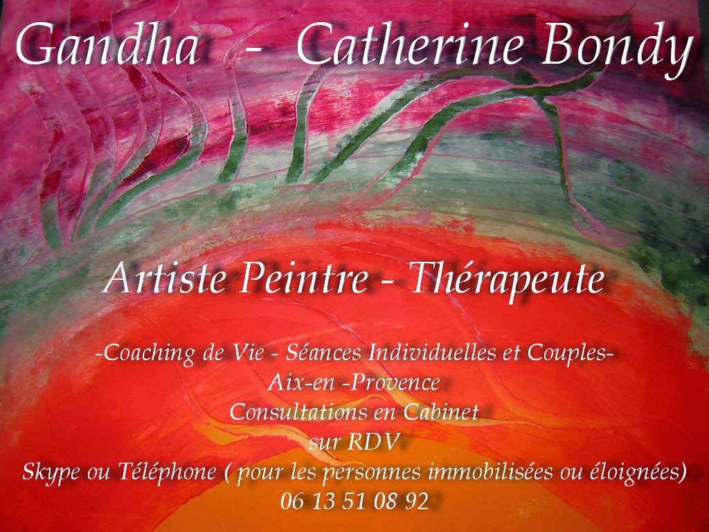 __GANDHA__  Peintre et Psycho-Praticienne .  www.gandha.fr