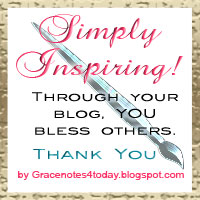 Simpy Inspiring! Blog award by Grace Baxter