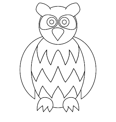 Baby Owls Coloring Sheet To Print Baby Owl Coloring Page