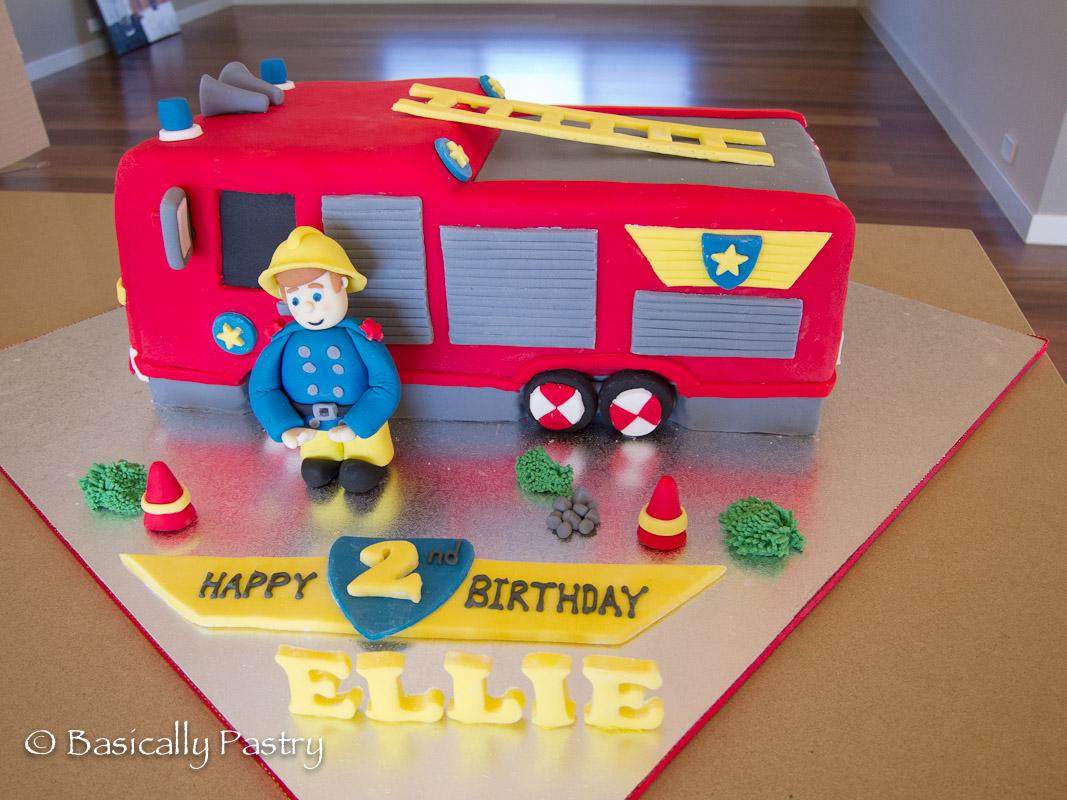 Basically Pastry Fireman Sam Cake