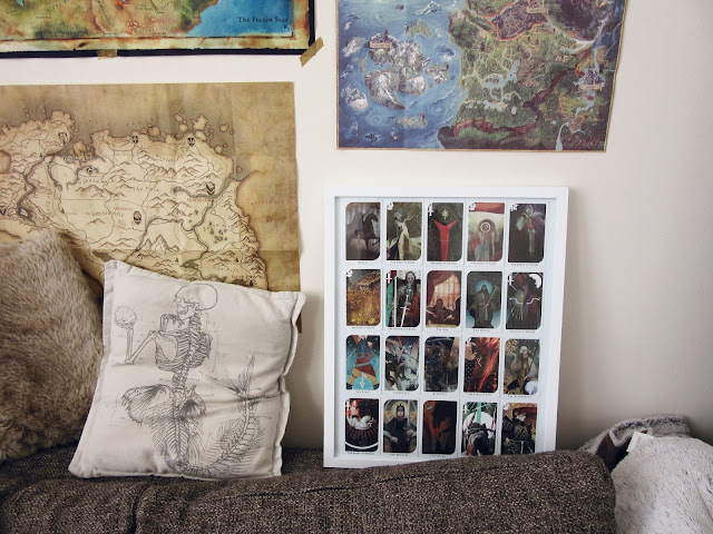 how to display tarot cards dragon age inquisition