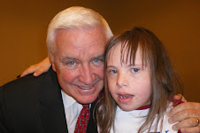 Chloe and PA Governor Tom Corbett