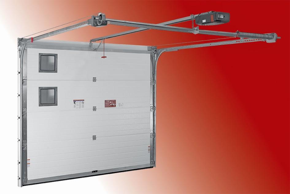 The door industry journal enhanced res olution duratherm for Rear garage door