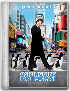 Capa Os Pinguins do Papai   DVDRip   Dublado (Dual Áudio)