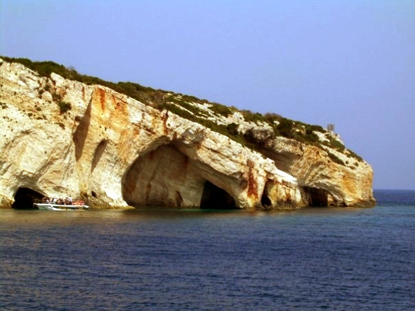 Błękitne Jaskinie na Zakyntos