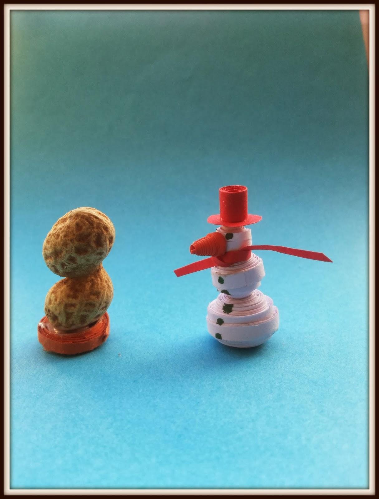 http://quillingzone.blogspot.tw/2014/02/3d-miniature-snow-man.html