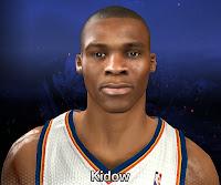 NBA 2K14 Russell Westbrook Cyberface Mod