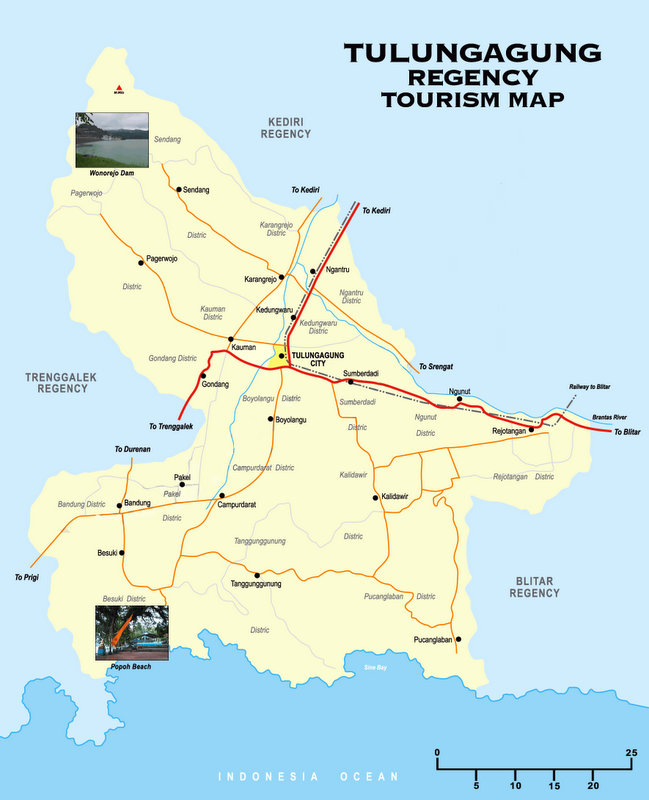 Tulungagung Indonesia  City pictures : tulungagung dengan ibukota tulungagung terdapat di dalam wilayah ...