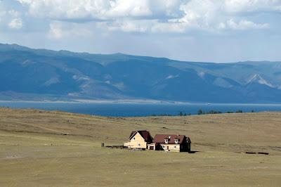 Isla de Olkhom en el Lago Baikal, transiberiano 2015