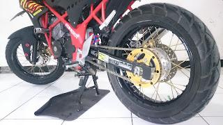 Modif Cb150r Pakai Velg Jari Jari Spoke Wheel Asfi Club
