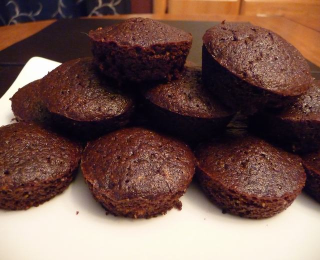 Easy two-bite brownie recipe