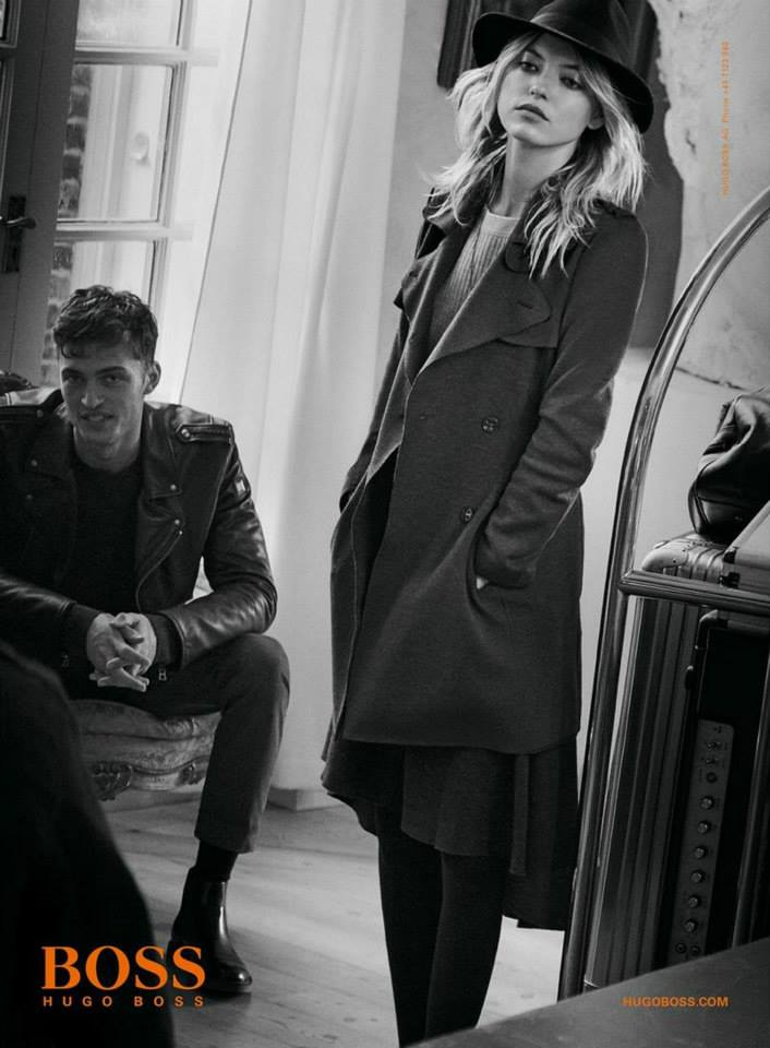 Hugo Boss Orange Fall/Winter 2015 Campaign starring Martha Hunt