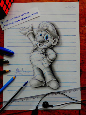 L'arte del sedicenne Brasiliano João Carvalho