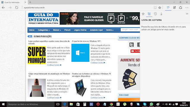 Microsoft Edge - Saiba um pouco mais sobre o novo navegador