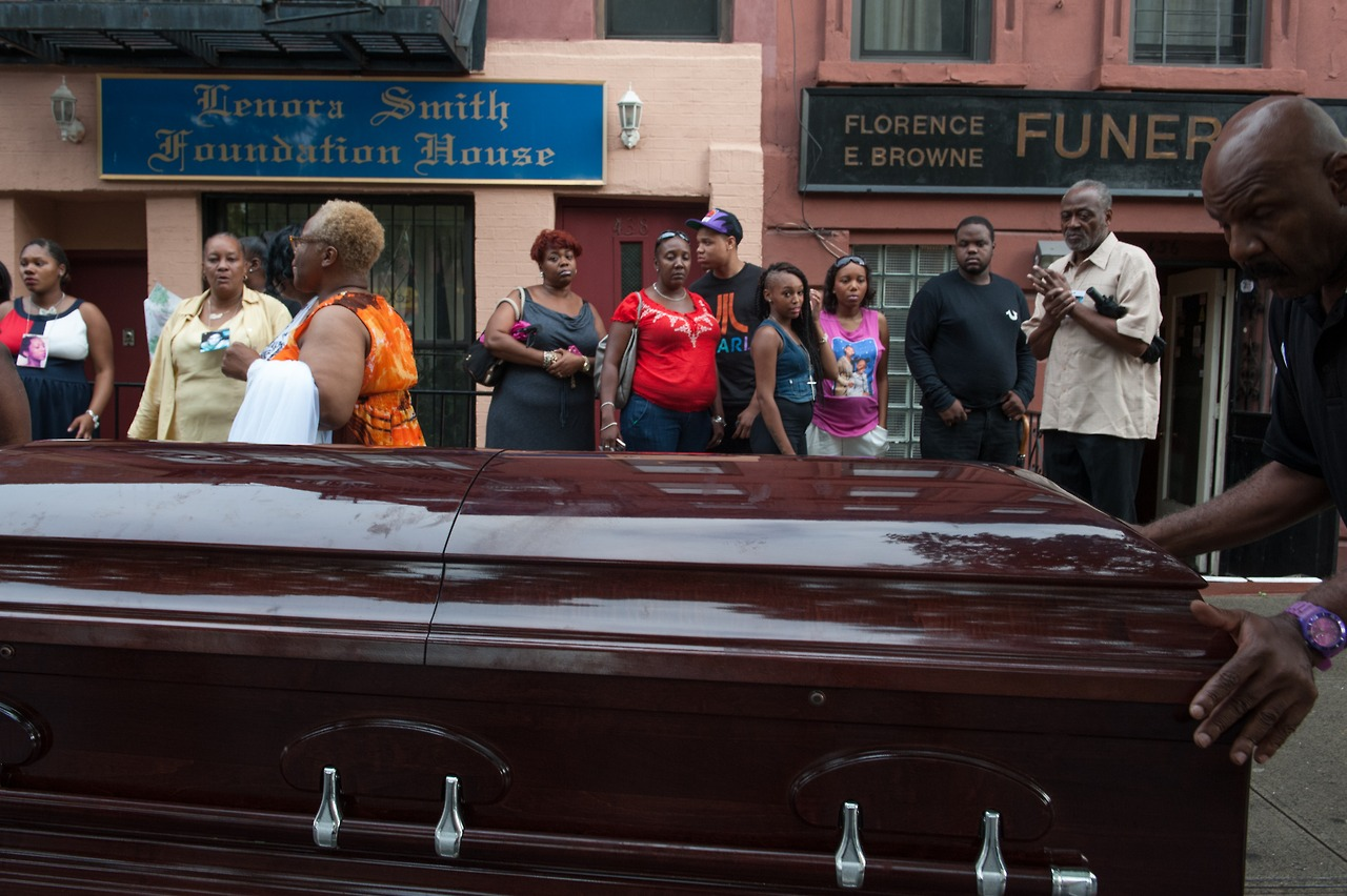 Islan Nettles Funeral bookmarks: R.I....