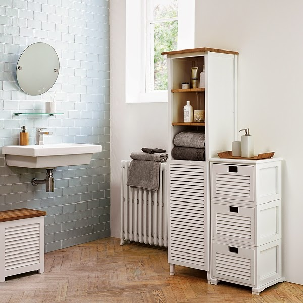 Muebles De Baño Sencillos:30 baños nórdicos inspiradores para tu hogar